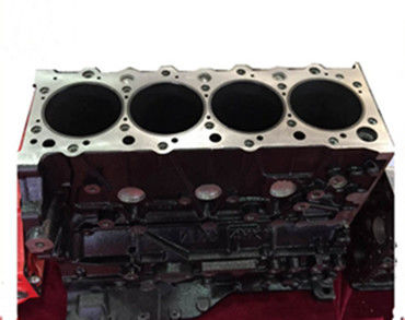 Auto Engine Block Cylinder Block Excavator Spare Parts  for Isuzu 4HK1 NPR 700P block cylinder